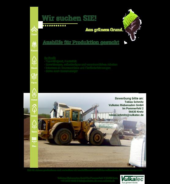Anzeige-Aushilfe-Produktion